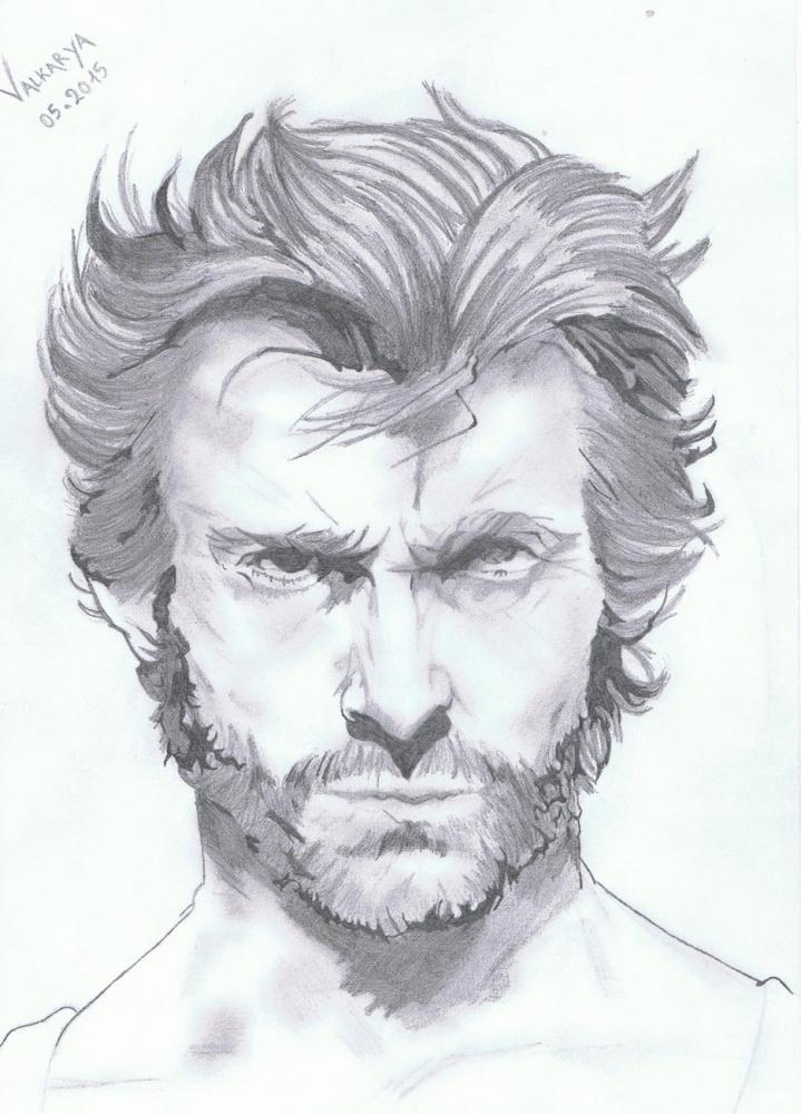 Hugh Jackman by Valkarya
